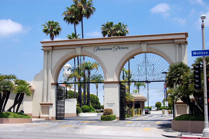 Paramount Studios in Los Angeles