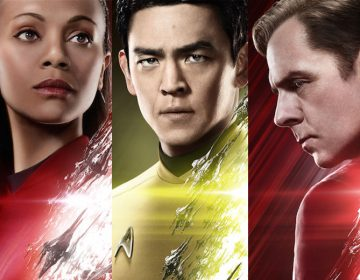Scotty, Sulu, Uhura STAR TREK BEYOND Posters Added