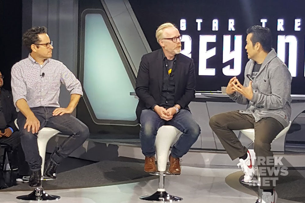 J.J. Abrams, Adam Savage and Justin Lin