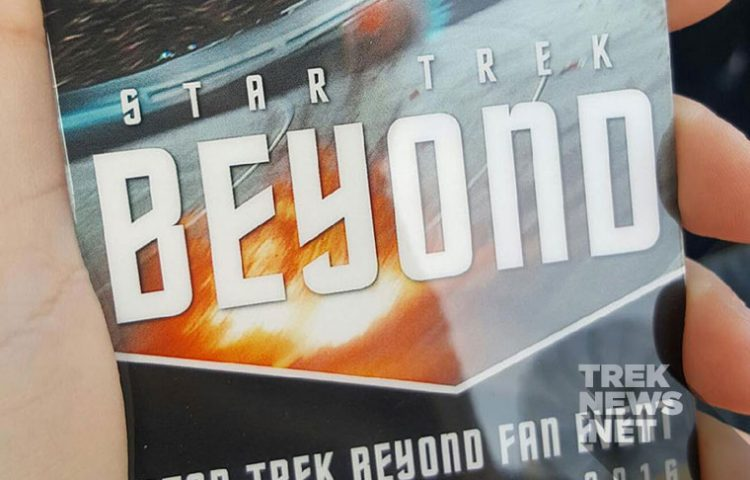 We're LIVE at Paramount for the Big STAR TREK BEYOND Fan Event