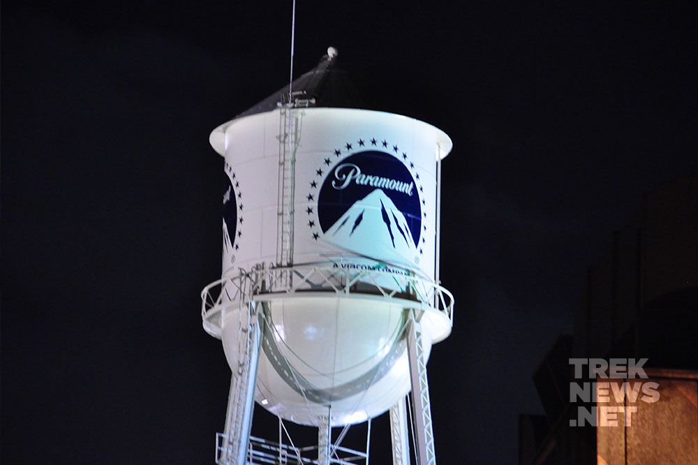 The famous Paramount water tower