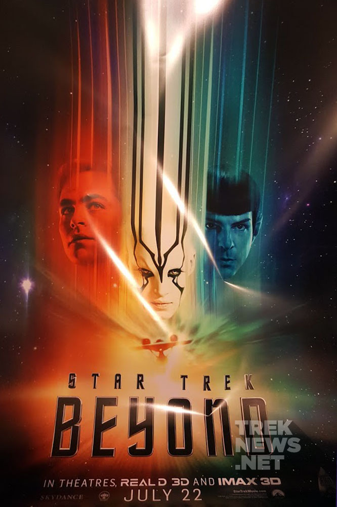 The Star Trek Beyond fan event poster