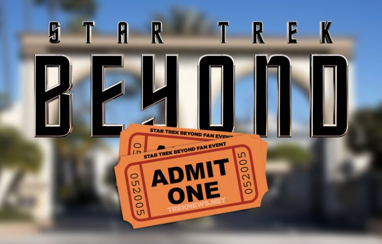 We've Got Your Tickets To The STAR TREK BEYOND Event On May 20