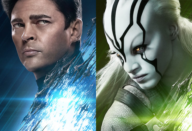 New star trek beyond posters feature bones jaylah - Jaylah sofia boutella ...