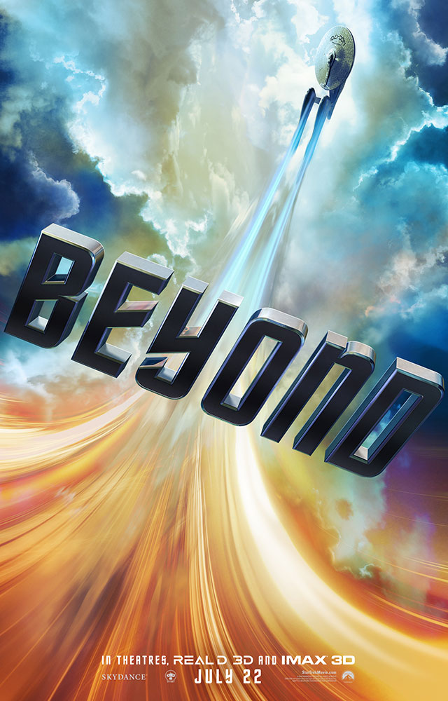 "STAR TREK BEYOND ""clouds"" poster"