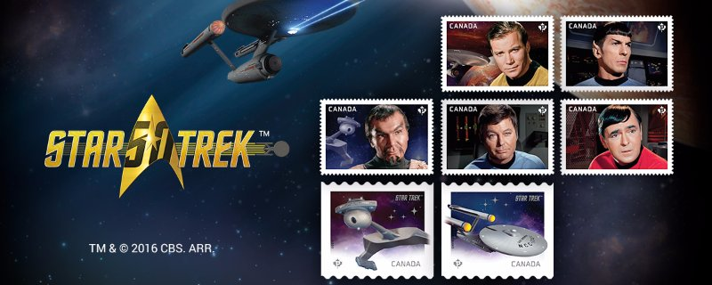 Star Trek stamps