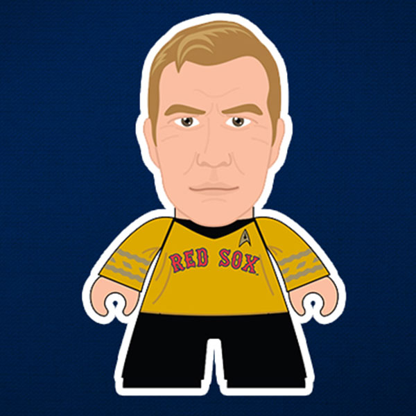 Captain Kirk Red Sox Figure