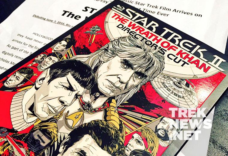 Star Trek II: The Wrath of Khan Director's Cut on Blu-ray