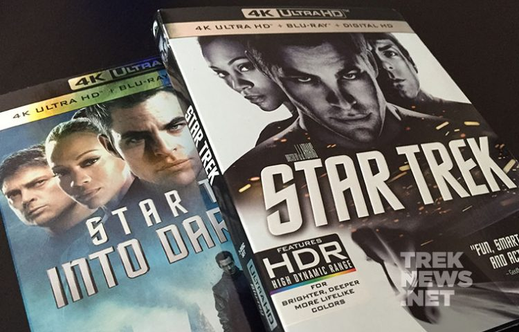 WIN STAR TREK '09, STAR TREK INTO DARKNESS On 4K UHD Blu-ray!