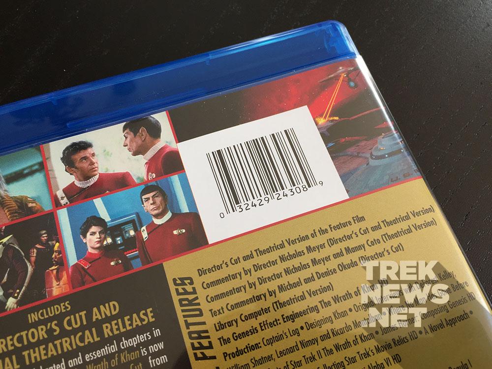 Star Trek II: The Wrath of Khan - The Director's Cut on Blu-ray