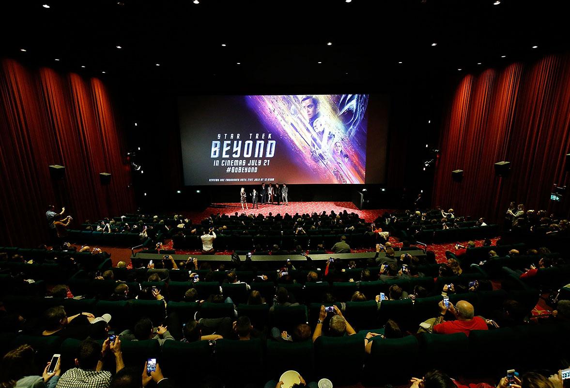 The Australian premiere of Star Trek Beyond