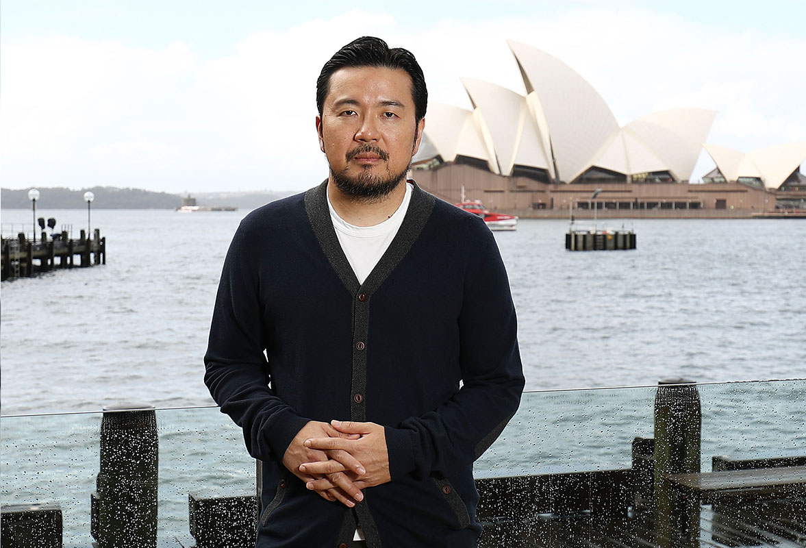 Justin Lin at the Australian premiere of Star Trek Beyond
