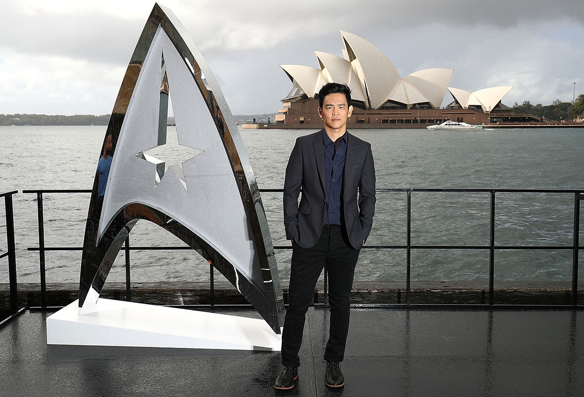 John Cho at the Australian premiere of Star Trek Beyond