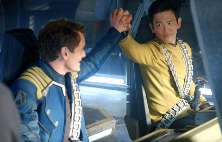 WATCH: Behind-The-Scenes B-Roll Footage From STAR TREK BEYOND