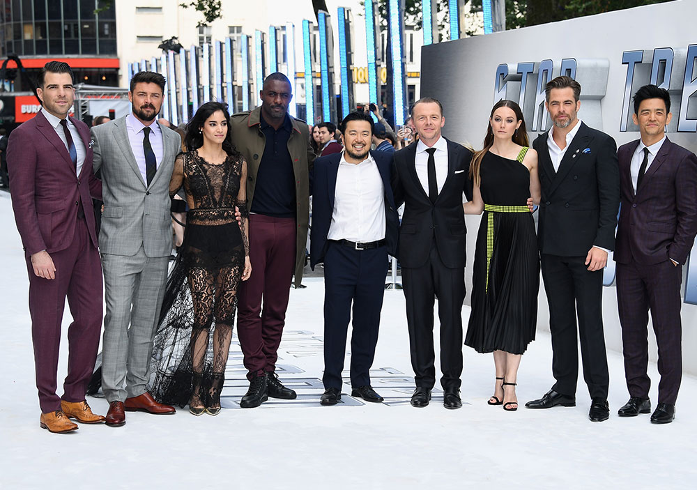 STAR TREK BEYOND UK Premiere