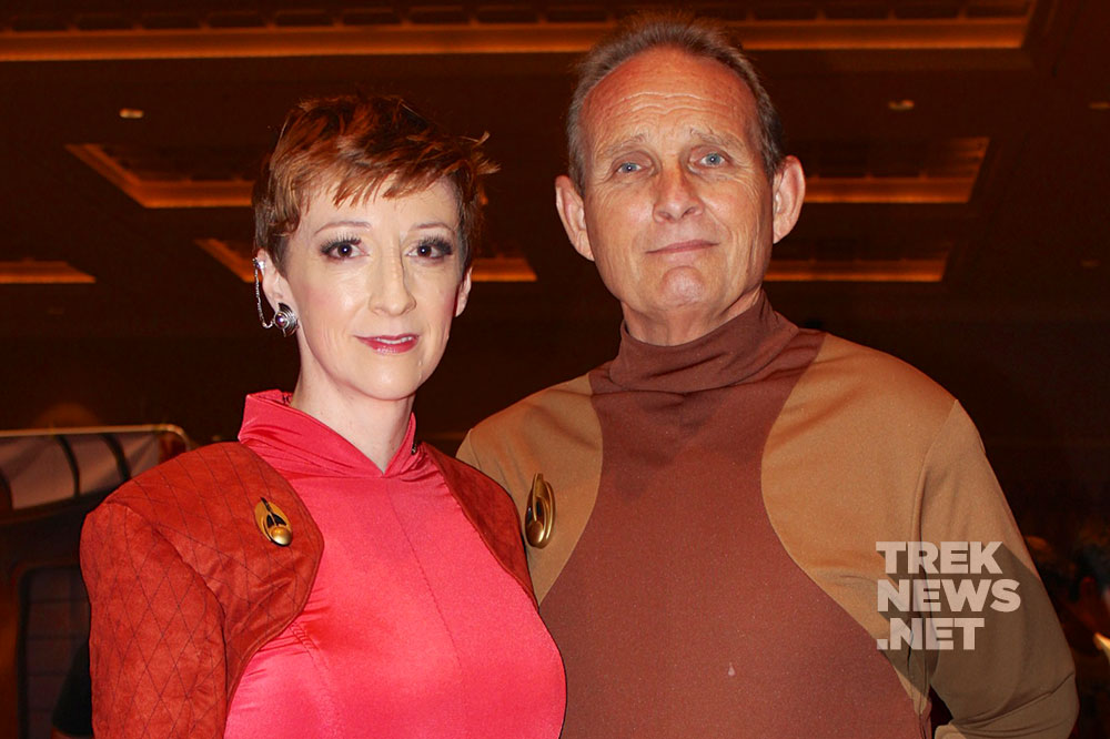 Star Trek cosplayers