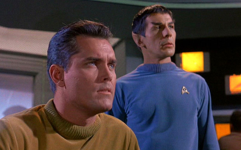 "Star Trek: The Original Series ""The Cage"" (photo: CBS Home Entertainment)"