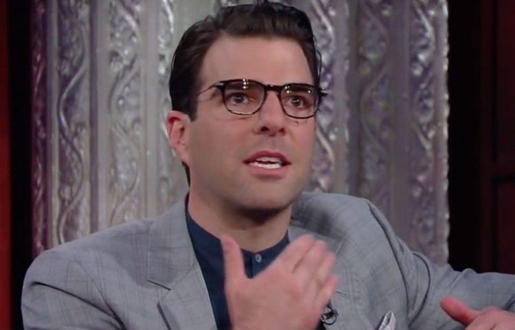 """WATCH: Zachary Quinto Pays Tribute to Anton Yelchin on """"The Late Show"""""""