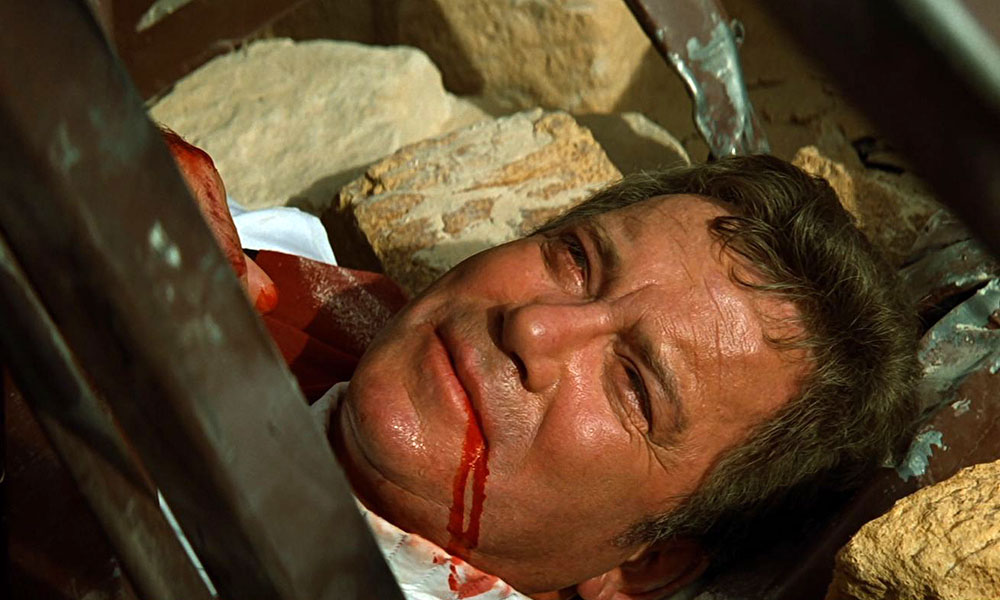 Captain Kirk's death scene from Star Trek: Generations