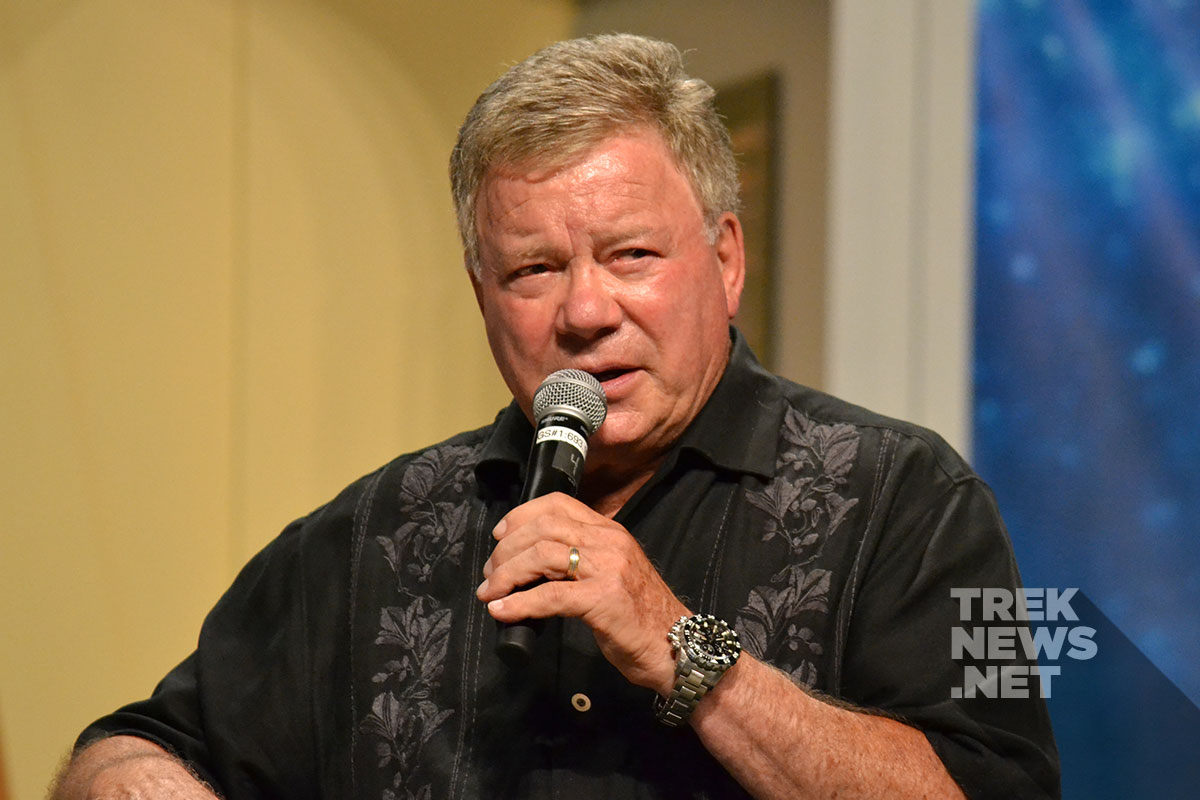 William Shatner at the 2016 Las Vegas Star Trek Convention
