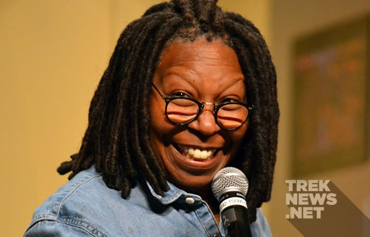 [#STLV] Whoopi Goldberg Shines In First Star Trek Convention Appearance