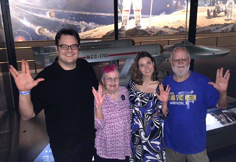 The Enterprise Finds A New Home With Fans