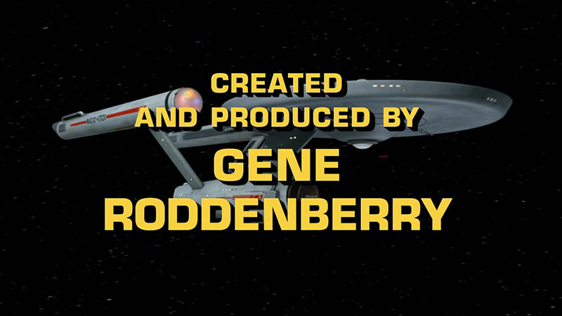 Star Trek, created by Gene Roddenberry