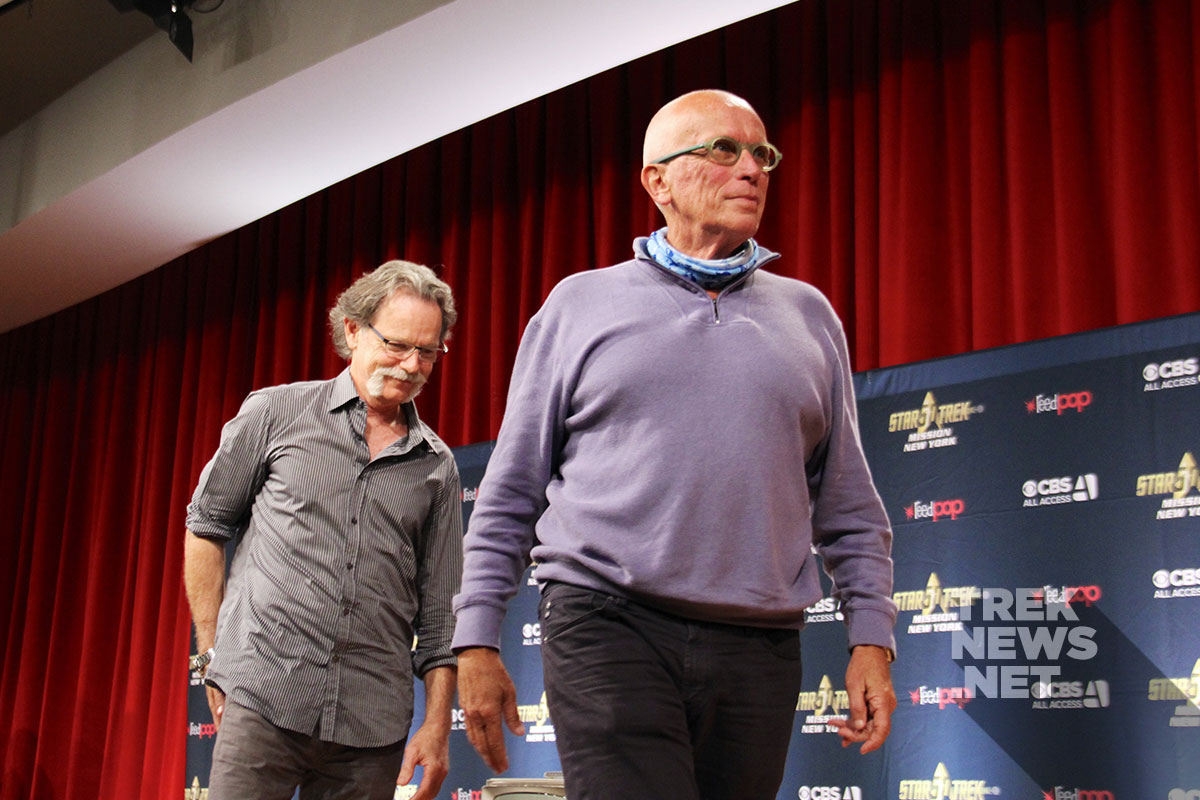 Bruce Greenwood and Peter Weller