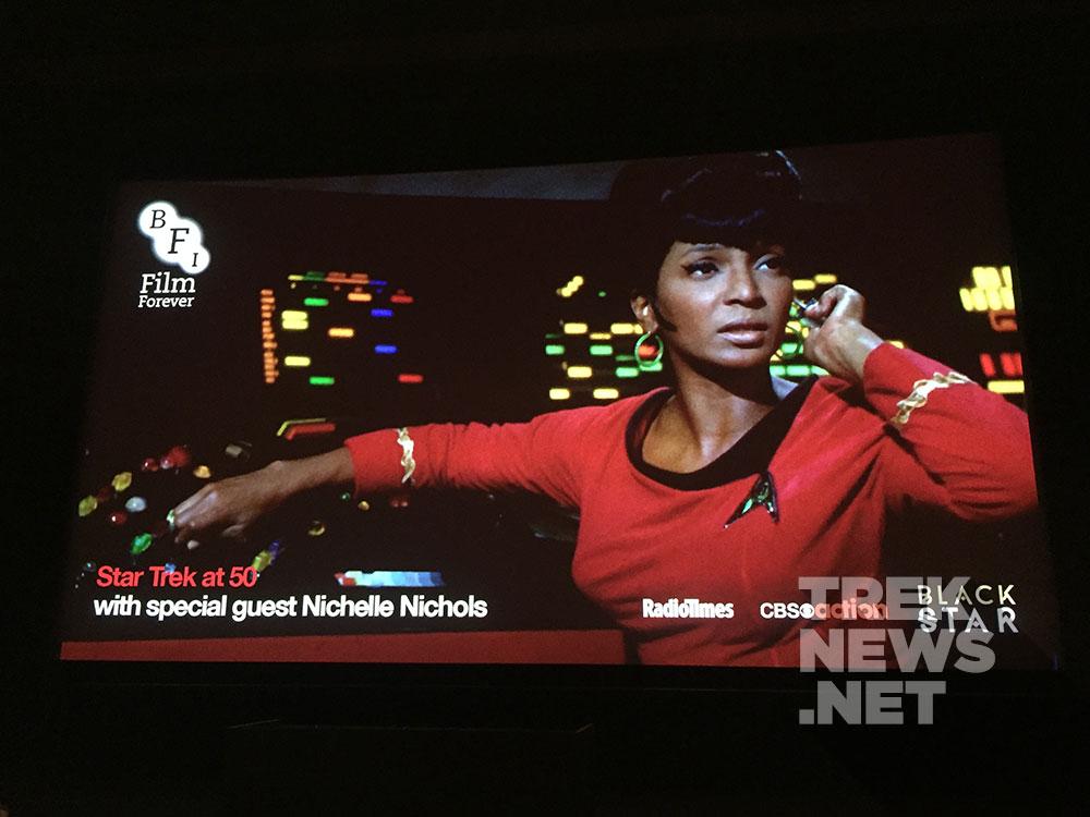 Nichelle Nichols at BFI