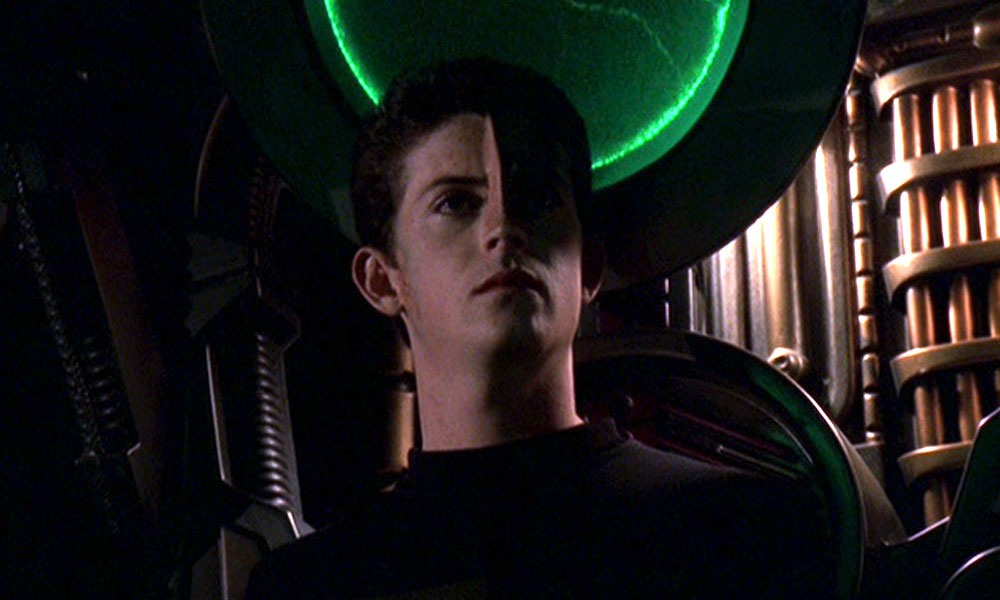 Intiraymi as Icheb on 'Voyager'