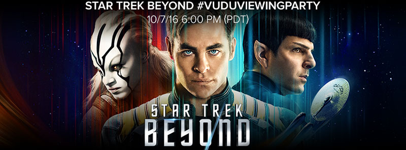 Star Trek Beyond on VUDU