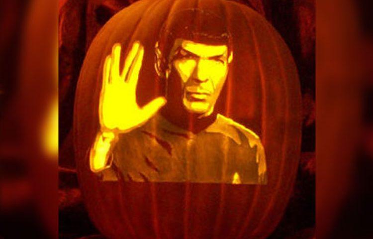 Starfleet S Finest Star Trek Pumpkin Carving Ideas