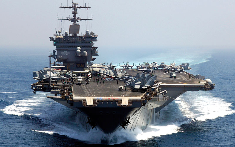 CVN-65 Enterprise (photo: Navy Source)