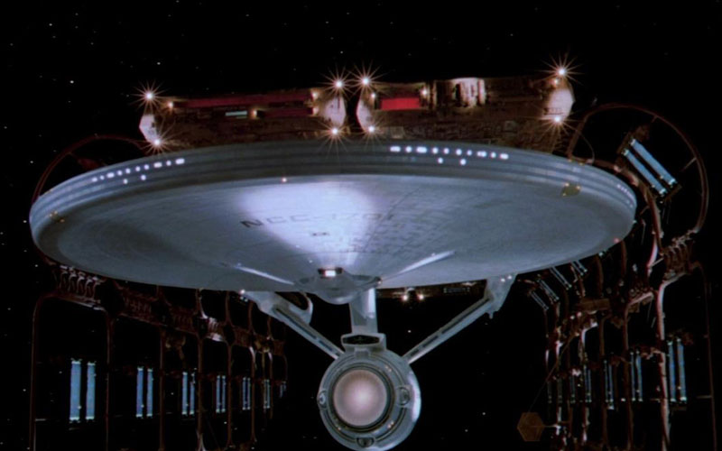 The Enterprise, as seen in Star Trek: The Motion Picture (photo: Paramount Pictures)