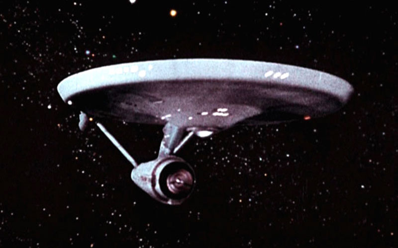 The original Starship Enterprise (photo: CBS Home Entertainment)