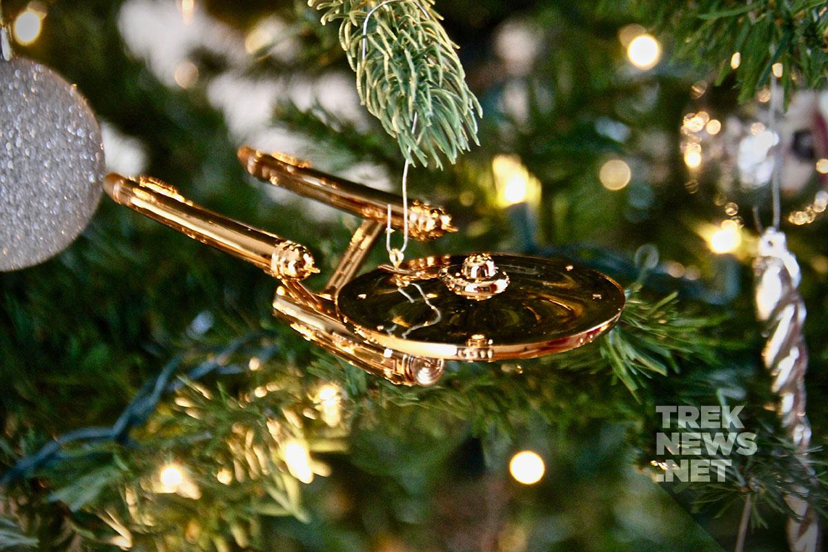 review hallmark u0027s enterprise christmas ornament celebrates 50