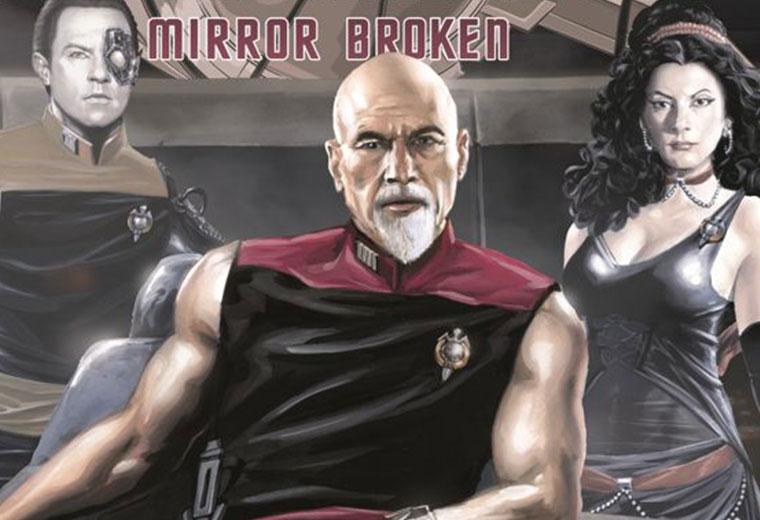 Resultado de imagem para startrek next generation broken mirror