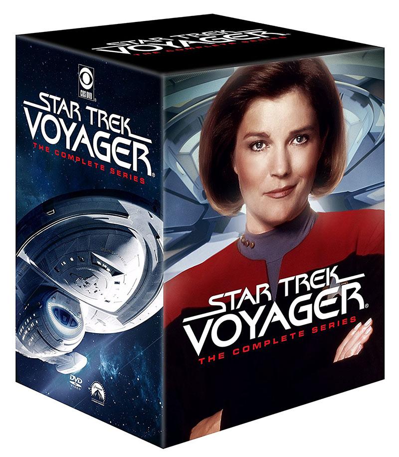 Star Trek: Voyager - The Complete Series on DVD