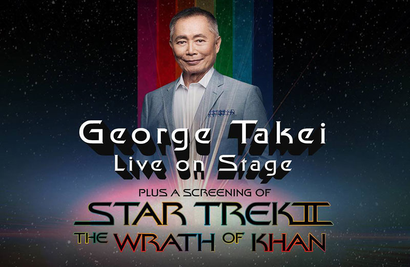 George Takei at the Boch Center on February 3