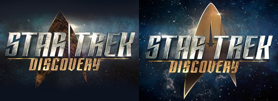Comparison: Old vs. New Star Trek: Discovery Logo