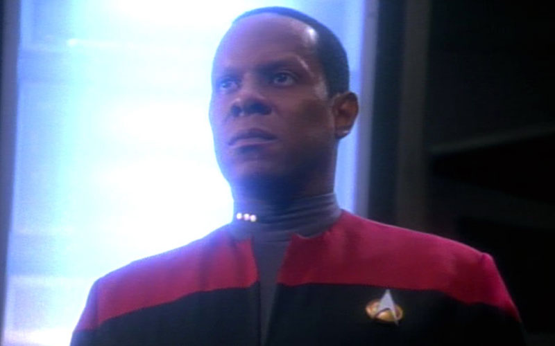 Cmdr. Sisko from season 2