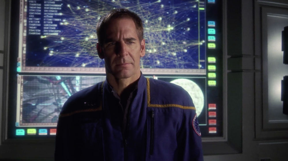Scott Bakula as Captain Jonathan Archer | Photo: CBS Home Entertainment