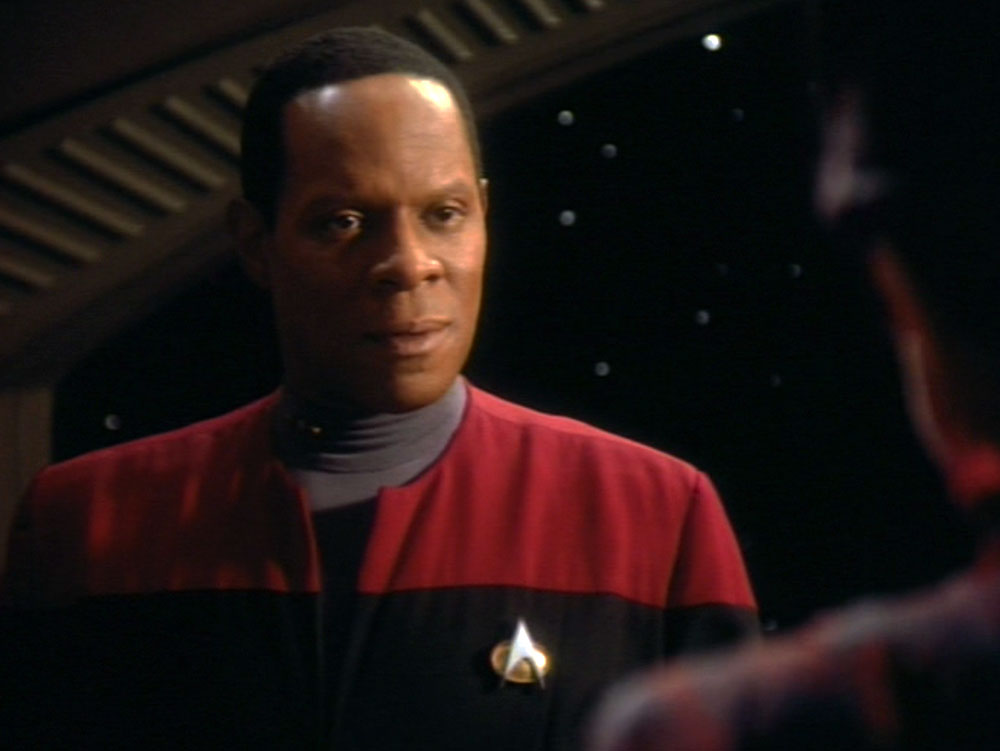 Avery Brooks as Cmdr. Benjamin Sisko