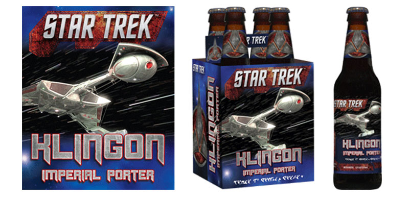 Klingon Imperial Porter packaging