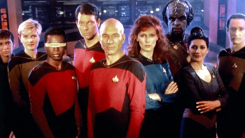 Star Trek: The Next Generation first season cast