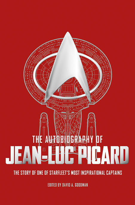 The Autobiography of Jean-Luc Picard cover art