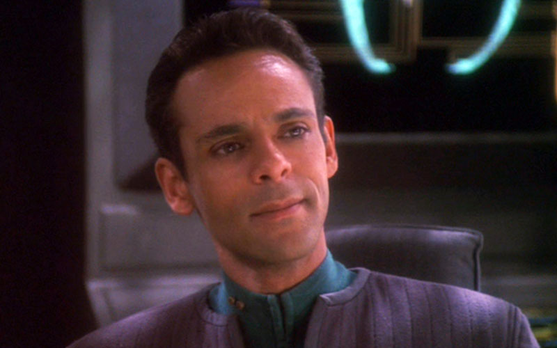 Alexander Siddig as Doctor Julian Bashir on Star Trek: DS9