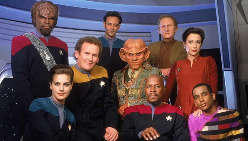 The cast of Star Trek: Deep Space Nine
