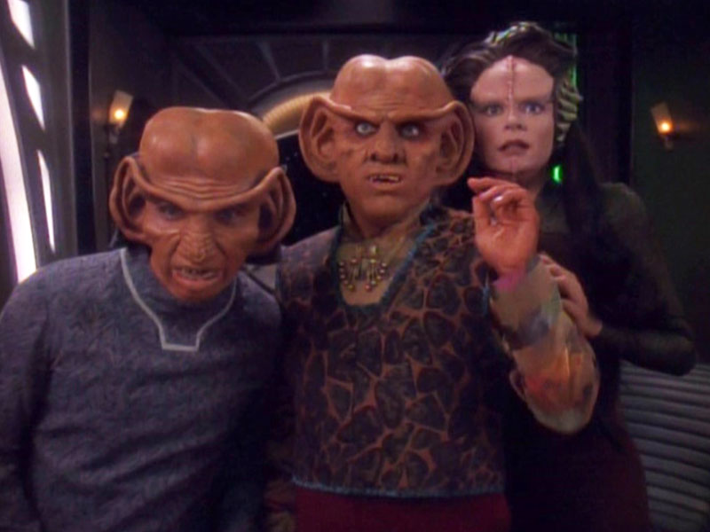 "A scene from the Deep Space Nine episode ""Prophet Motive"""
