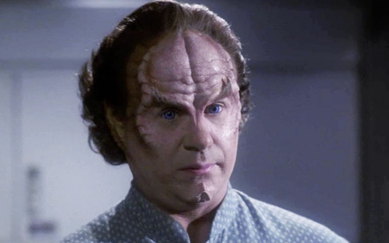 John Billingsley as Doctor Phlox on Star Trek: Enterprise